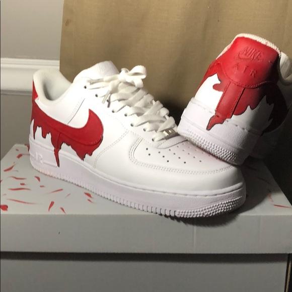 Custom bloody Air Force 1